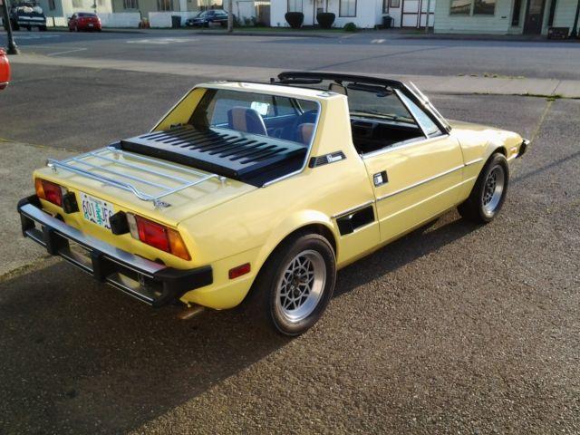 X19 Bertone - Classic Fiat X-1/9 1978 for sale